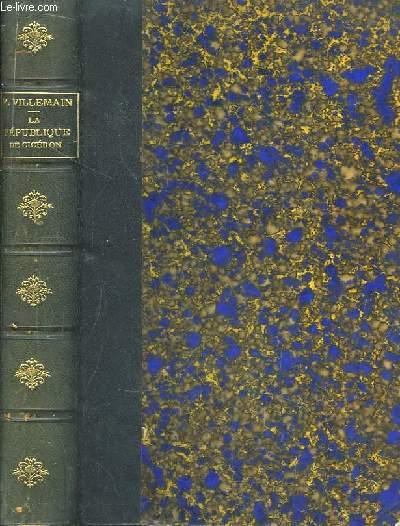 La République de Cicéron, traduite d'après le texte découvert par M. Mai.