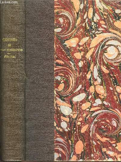 Oeuvres de Sully Prudhomme, de l'Académie Française. Prose 1883. L'Expression dans les Beaux-Arts.