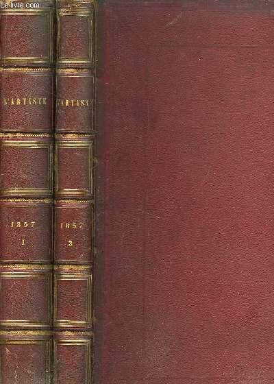 L'Artiste. 1857, en 2 TOMES