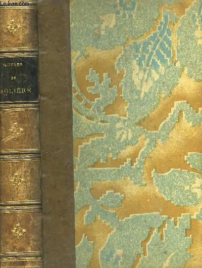 Oeuvres de Molière, précédées d'une notice sur sa vie et ses ouvrages par M. Sainte-Beuve.