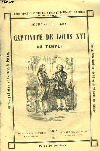 Captivité de Louis XVI au Temple.