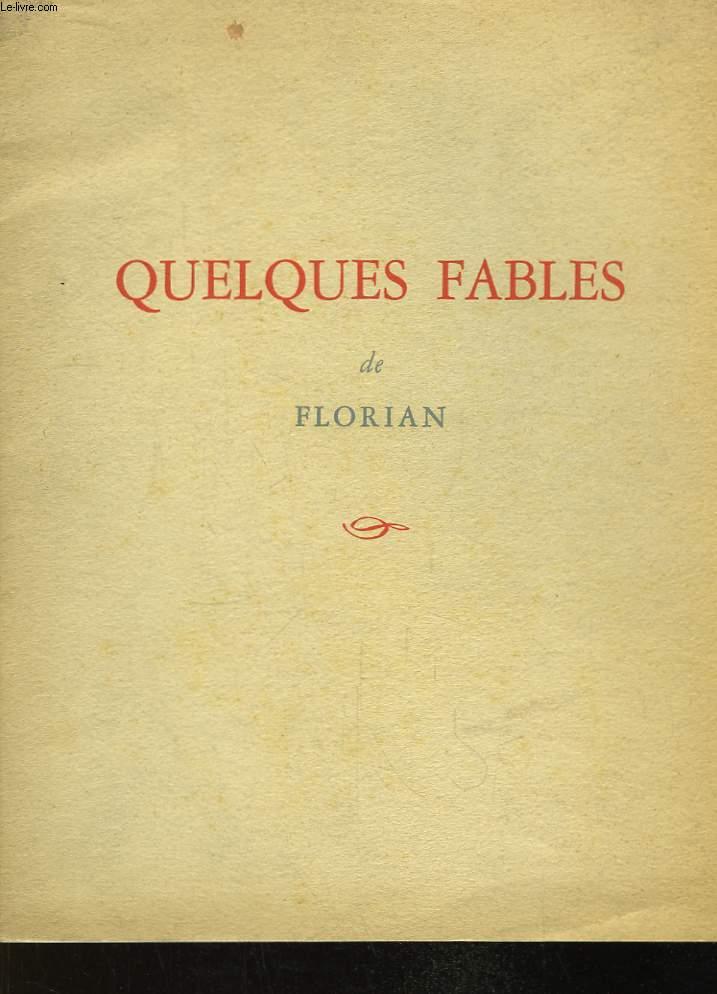 Quelques fables de Florian