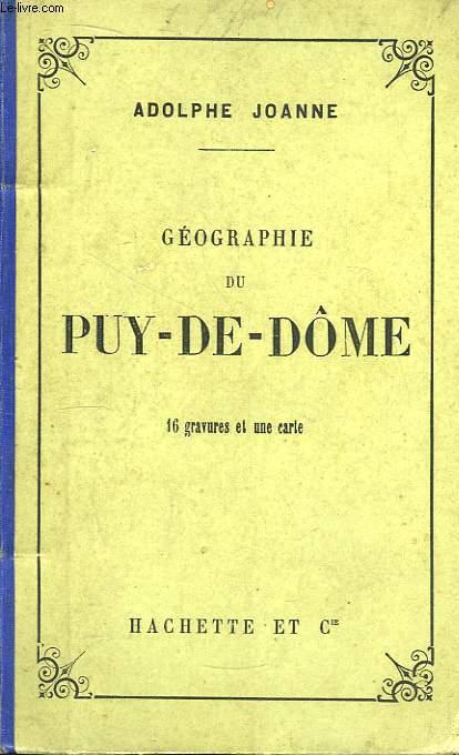 Géographie du Département de Puy-De-Dôme.