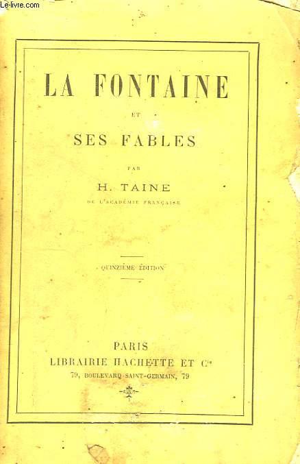 La Fontaine et ses Fables.