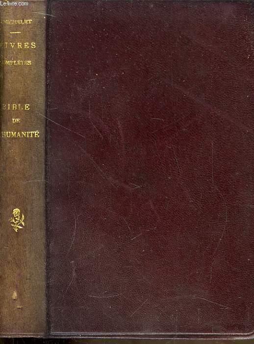 Bible de l'Humanité. Etude par Sully Prudhomme.