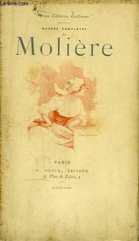 Oeuvres Complètes de Molière. TOME VIII : Monsieur de Pourceaugnac, Mélicerte, Le Sicilien, La Comtesse d'Escarbagnas