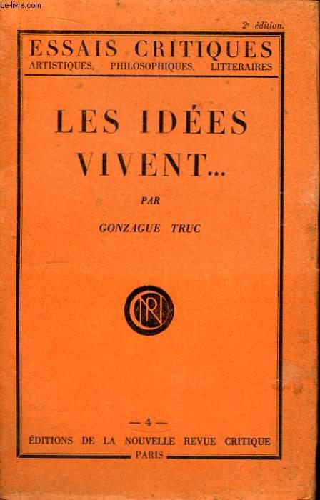 Les Idées vivent ...
