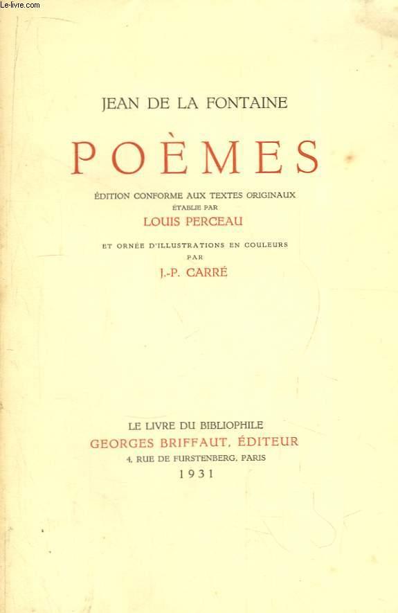 Poèmes.