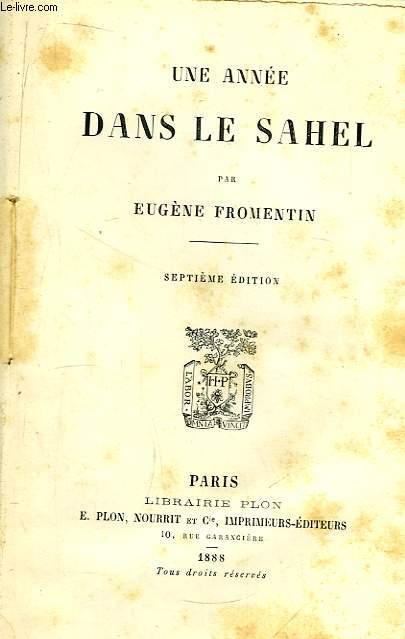 Une Année dans le Sahel