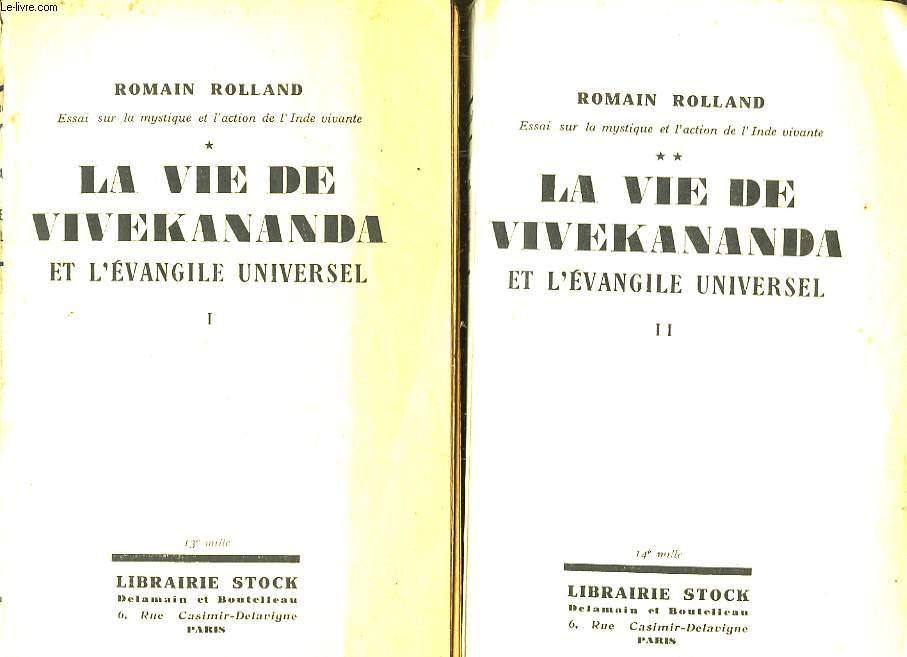 La Vie de Vivekananda. En 2 TOMES