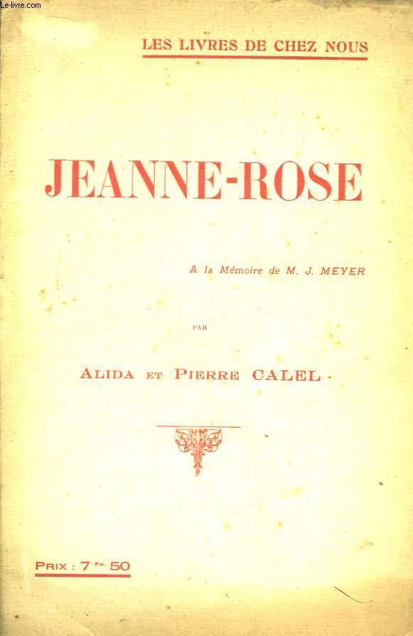 Jeanne-Rose.