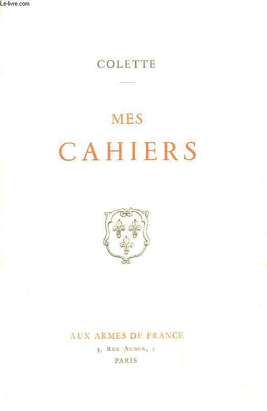 Mes Cahiers.