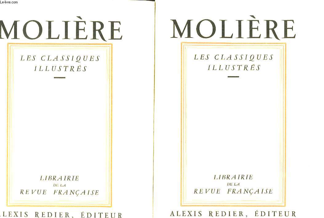 Molière. Les Classiques Illustrés. En 2 TOMES