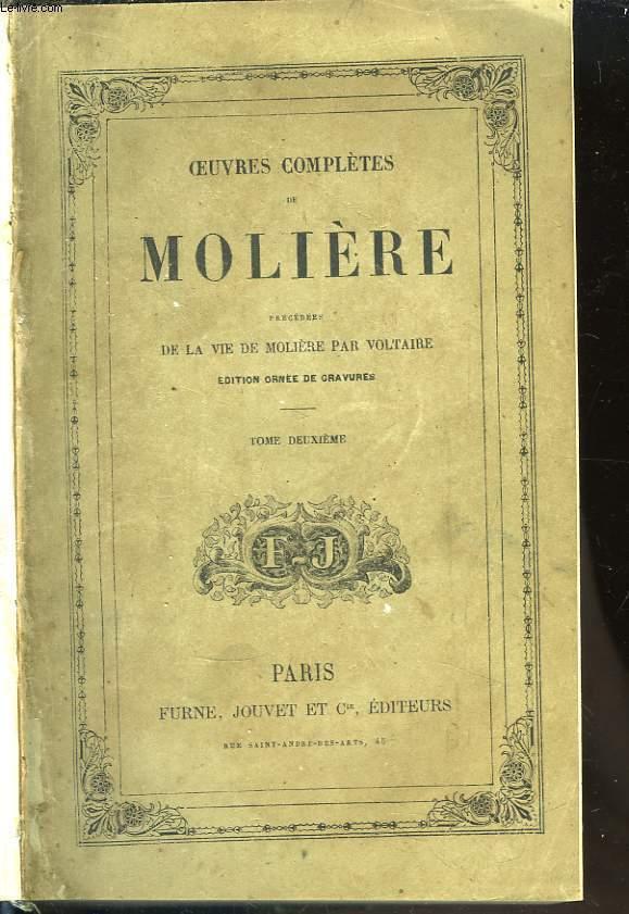Oeuvres Complètes de Molière. En 2 TOMES