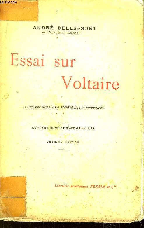 Essai sur Voltaire.