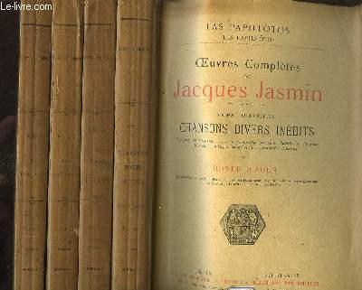 Oeuvres Complètes de Jacques Jasmin. En 4 TOMES