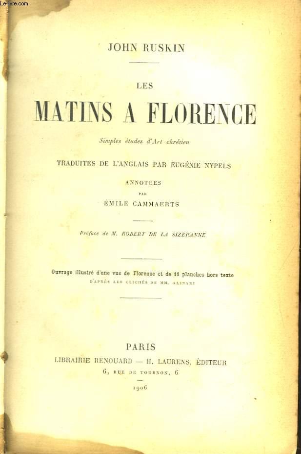 Les Matins à Florence.