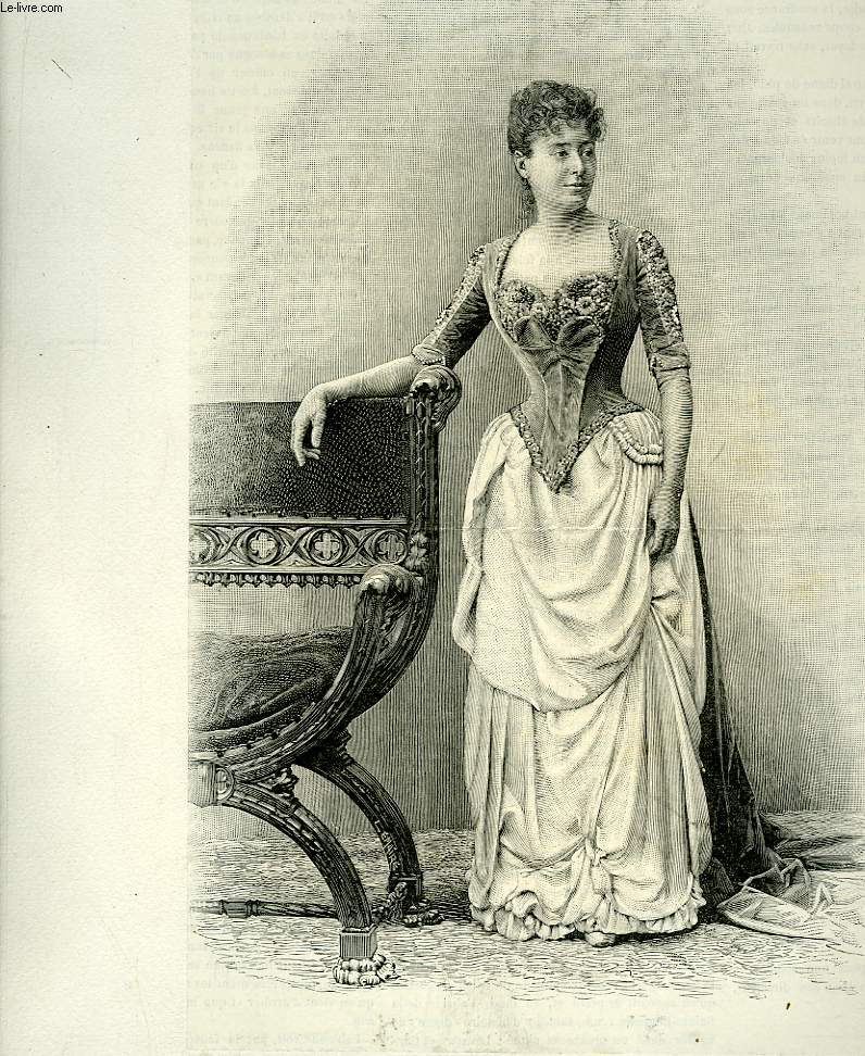 Portrait de Mme Bartet (Comédie Française), extrait du journal hebdomadaire