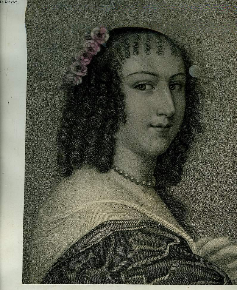 Portrait de Manon de l'Enclos, extrait du journal hebdomadaire