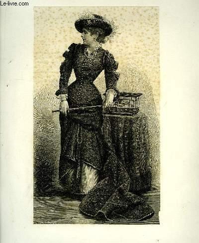 Portrait de la Diva Willis, extrait du journal hebdomadaire