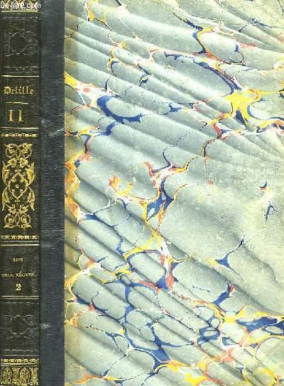 Oeuvres de J. Delille. TOME 11 : Les Trois Règnes, tome 2