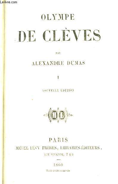 Olympe de Clèves. TOME 1