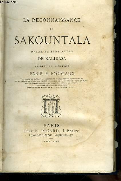 La Reconnaissance de Sakountala.
