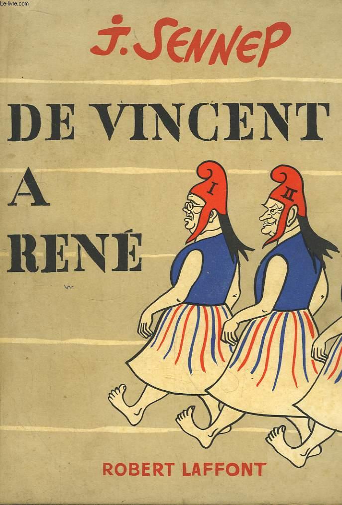 De Vincent à René.