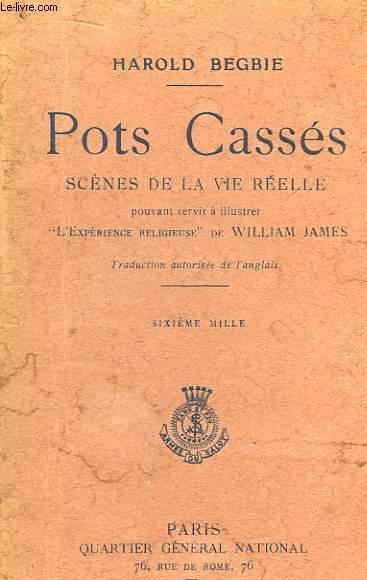 Pots Cassés. Scènes de la Vie Réelle pouvant servie à illustrer