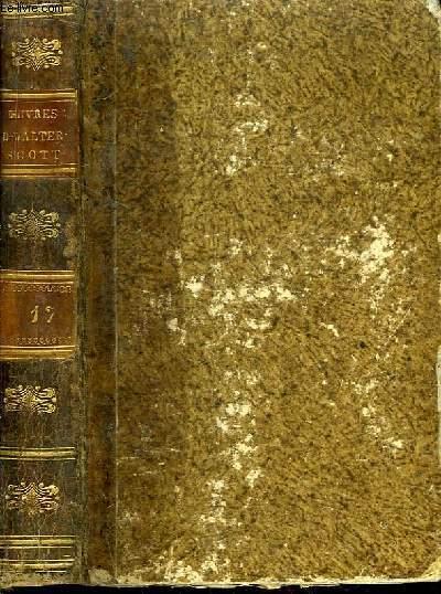 Oeuvres de Walter Scott. TOME 17 : Peveril Du Pic (Peveril of the Peak), Tome 1er.