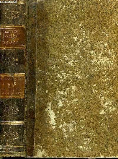 Oeuvres de Walter Scott. TOME 20 : Les Eaux de Saint-Ronan (St-Ronan's Well)
