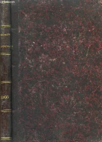 Le Magasin Pittoresque. 34ème année : 1866