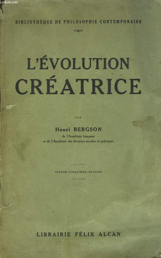 L'Evolution Créatrice.
