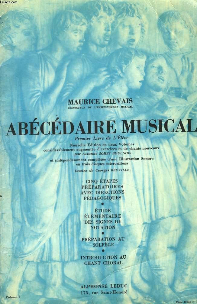 Abécédaire Musical. 1er Livre de l'Elève.