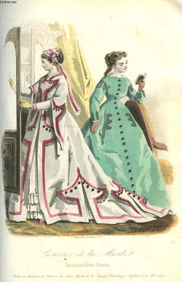 Le courrier de la mode journal des dames et des demoiselles 1866 1867 col - Le journal de la mode ...