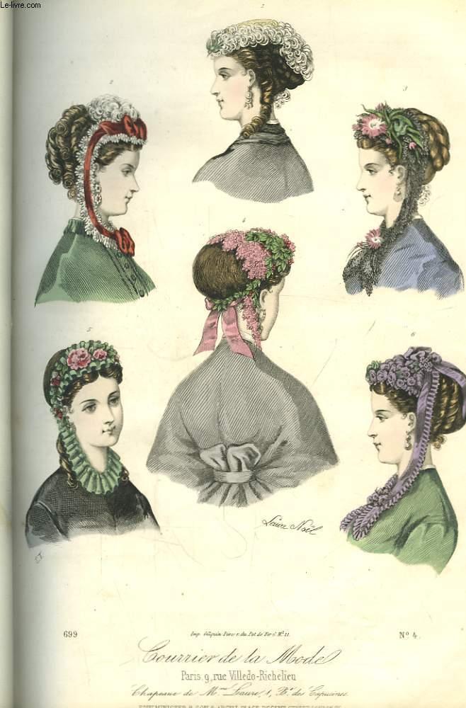 Le courrier de la mode journal des dames et des demoiselles 13 me ann e 1 - Le journal de la mode ...
