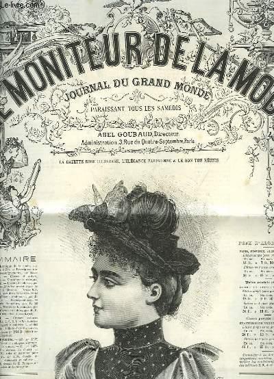 Le moniteur de la semestre de l ann e 1896 54 me ann e n 1 du 4 ja - Le journal de la mode ...