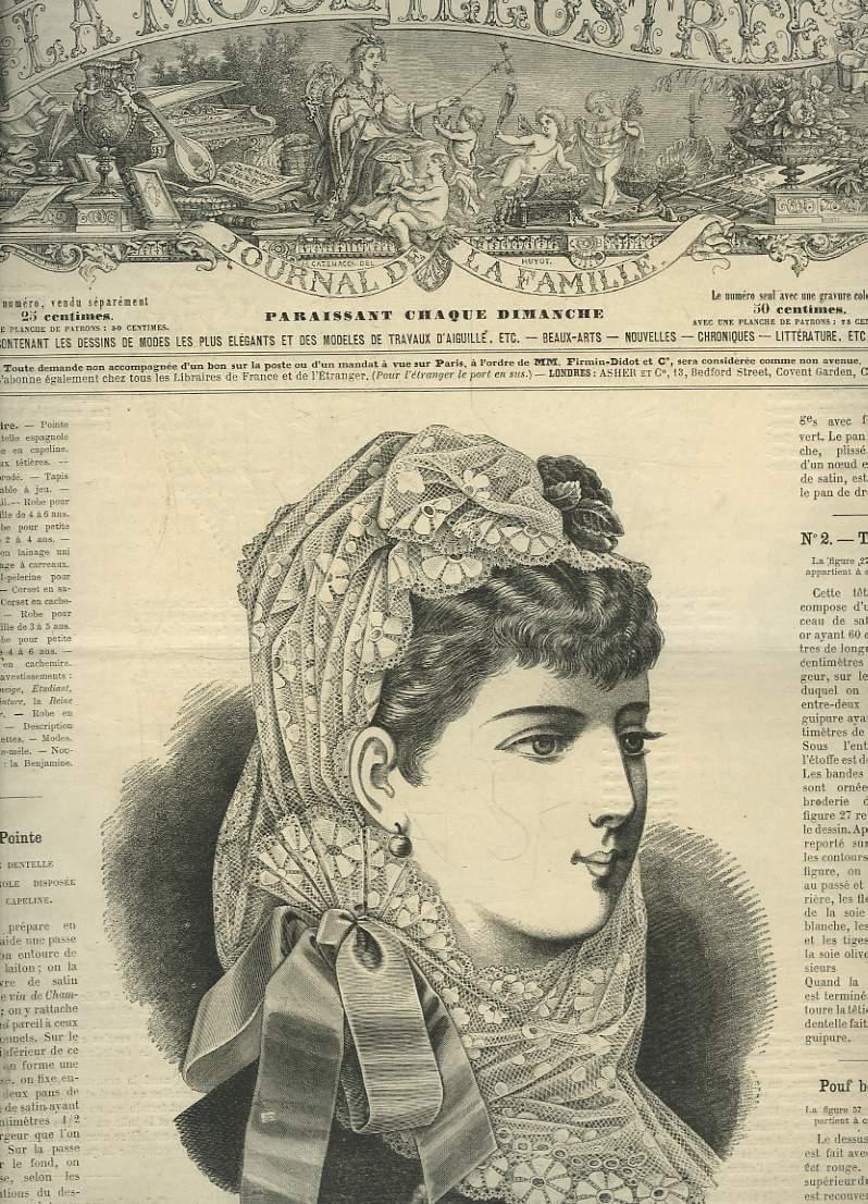 La mode illustr e journal de la famille 17 livraisons de l ann e 1896 37 m - Le journal de la mode ...