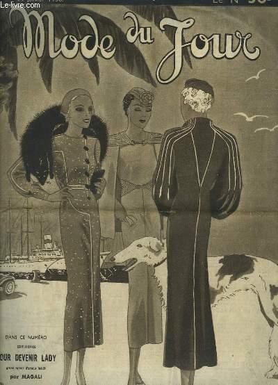 Mode du Jour N°770 : Combinaisons Fonds de Robe, Broderie de laine, Coussin brodé.