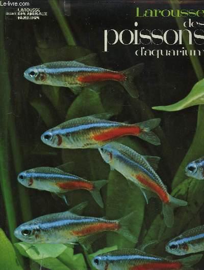 Larousse des poissons d'Aquarium