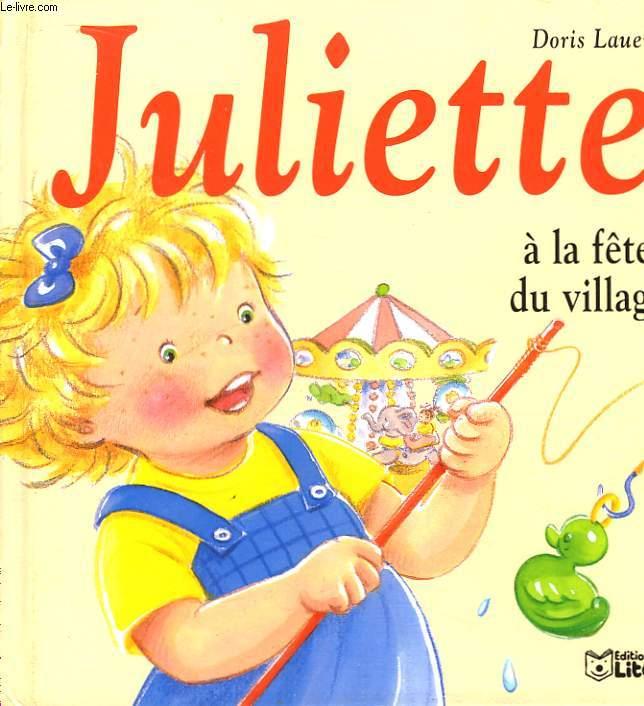 Juliette à la fête du village.