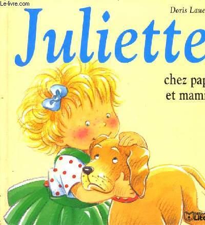Juliette chez papy et mamie.
