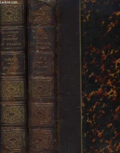 L'Histoire de France, depuis 1789 jusqu'en 1848, racontée à mes Petits -Enfants. En 2 volumes.