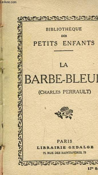 La Barbe-Bleue.