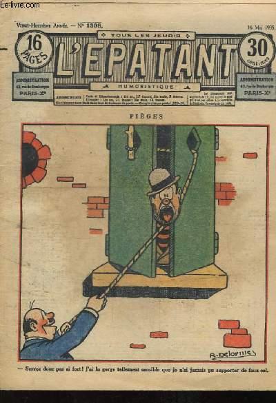 L'Epatant N°1398, 28ème année : Pièges.