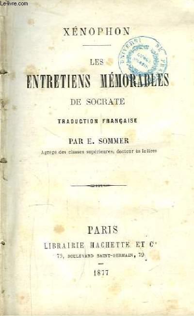 Les Entretiens Mémorables de Socrate