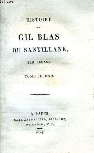 Histoire de Gil Blas de Santillane. Complet en IV Tomes.