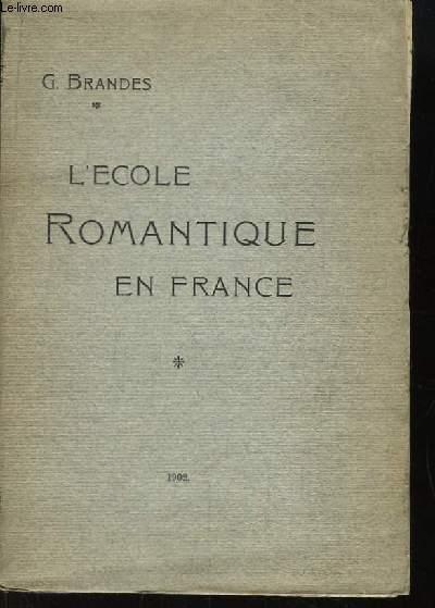 L'Ecole Romantique en France.