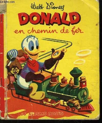 Donald en chemin de fer.