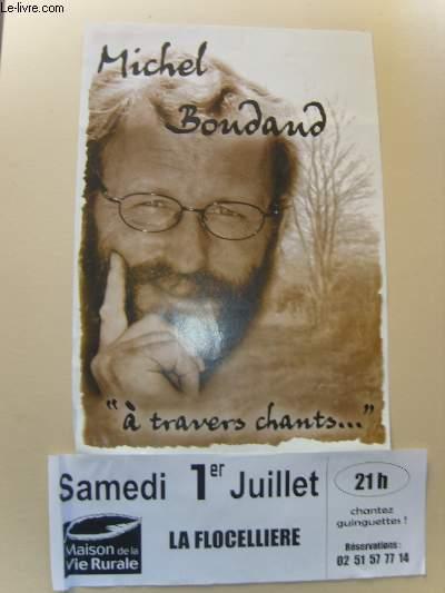 Michel Boudaud.